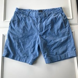 Men's J Crew Blue Shorts Size 34